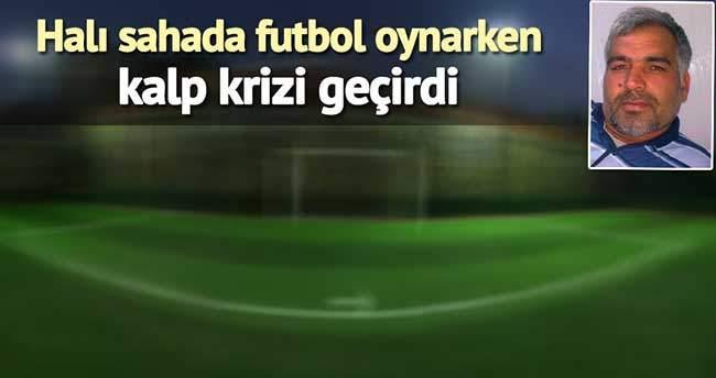 Halı Sahada Futbol Oynarken Kalbine Yenik Düştü