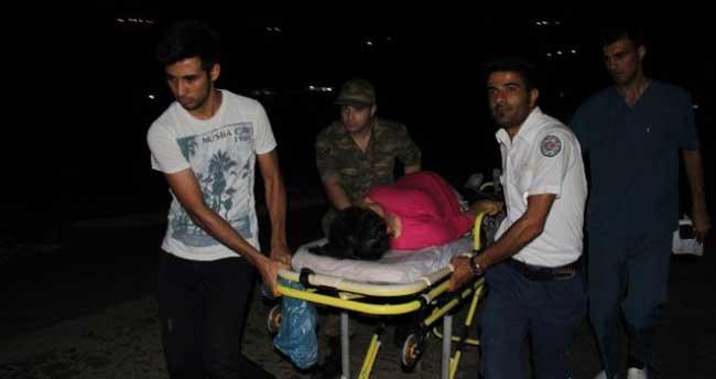Hamile kadını almaya giden askere ateş açtılar!