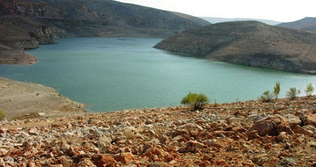 Karaman'da su seviyesi düştü