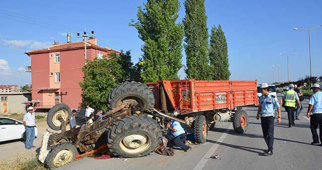 Karaman'da feci kaza: 1 ölü, 3 yaralı
