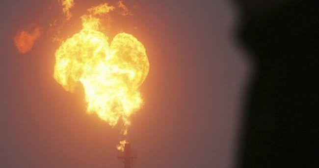 Bakü-Tiflis-Kars-Erzurum Doğalgaz Boru Hattı'nda patlama meydana geldi