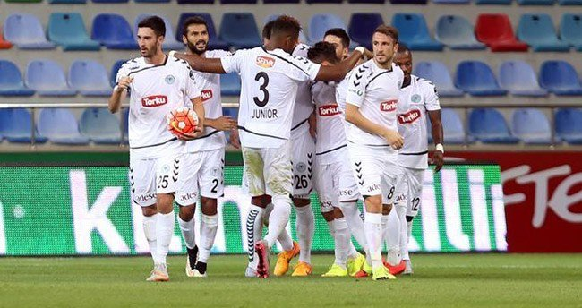 Kayserispor 1-1 Torku Konyaspor