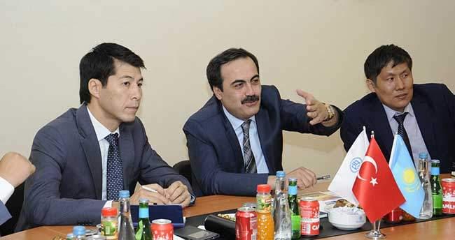 Kazakistan'dan Konya'ya Ekonomik Ziyaret