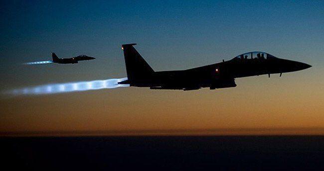 Koalisyon güçlerinden DAEŞ'e 20 hava saldırısı