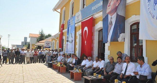 """Konya-Akşehir arasındaki """"raybüs"""" seferleri başladı"""