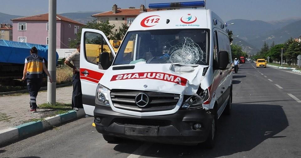 Konya'da Ambulans Bisiklete Çarptı: 1 Ölü