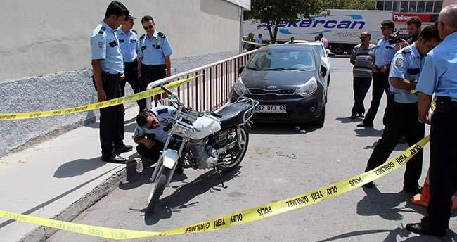 Konya'da banka soygunu girişimi