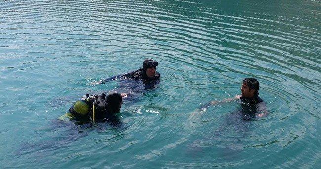 Konya'da iki kız kardeş girdikleri gölde boğuldu