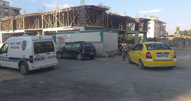 Konya'da inşaattan düşen işçi öldü