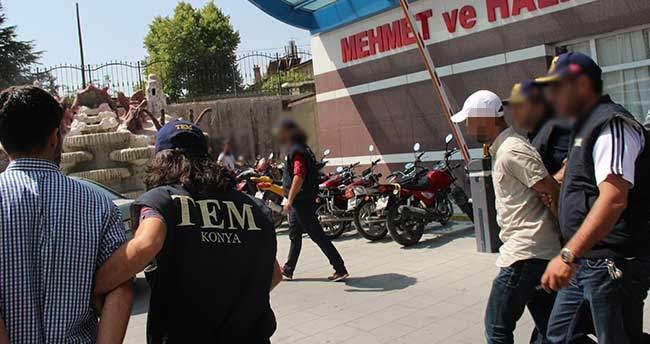 Konya'da PKK Operasyonu: 5 gözaltı