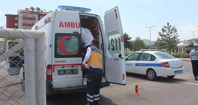 Konya'da üçüncü kattan düşen bebek öldü