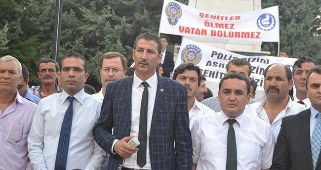 Konya'da Ülkücüler şehitler için bir araya geldi