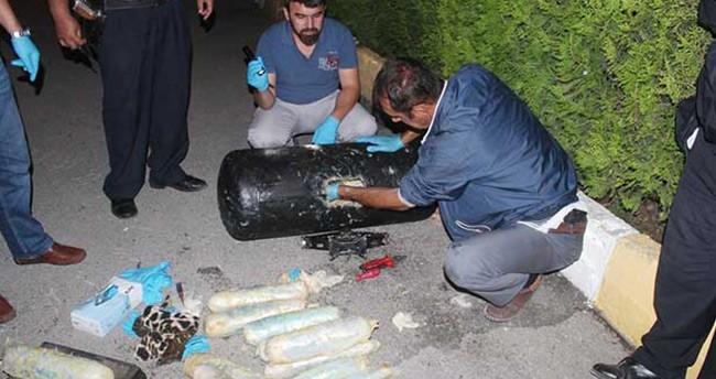 Konya'daki LPG tankında uyuşturucu sevkiyatında zanlılar tutuklandı