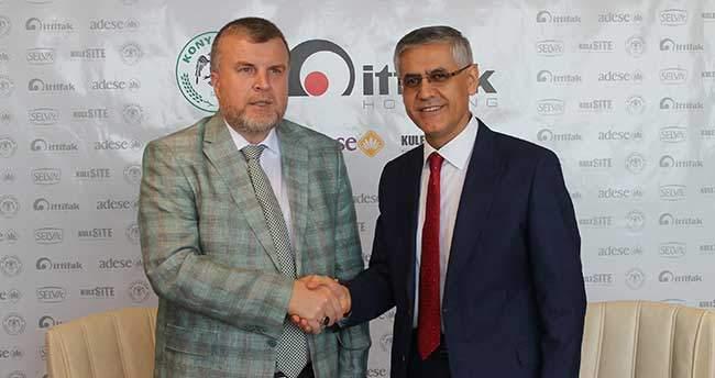 Konyaspor, İttifak Holding İle Yeniden Sponsorluk Anlaşmasına Vardı
