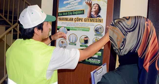 Meram'da Ambalaj Atıkları Ekonomiye Kazandırılıyor