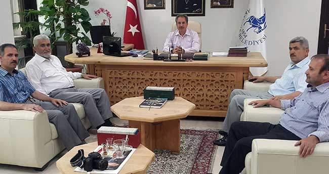 Mütftü Özdemir'de Başkan Akkaya'ya Veda Ziyareti