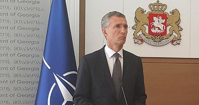 NATO Genel Sekreteri Stoltenberg Gürcistan'da