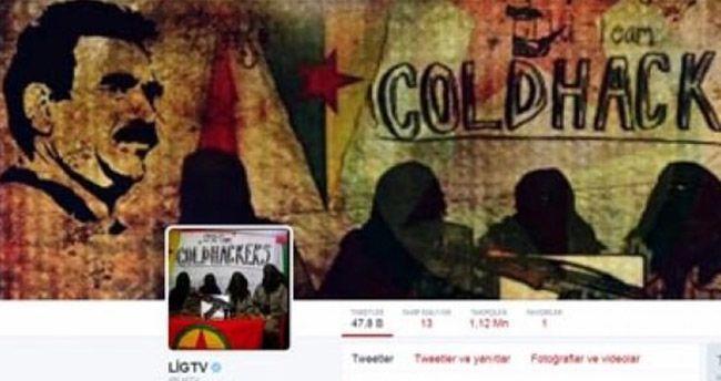PKK yandaşları LİG TV sayfasını hackledi