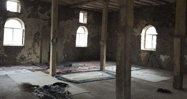 PKK'lılar camiyi karargah olarak kullanmış