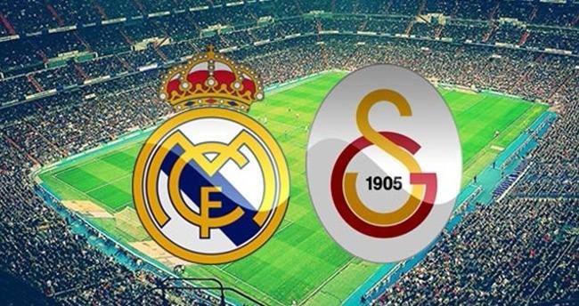 Real Madrid Galatasaray maçı saat kaçta hangi kanalda?