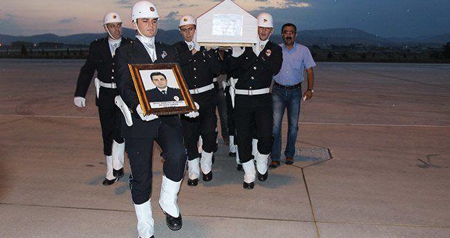 Şehidin cenazesi memleketi Konya'ya getirildi