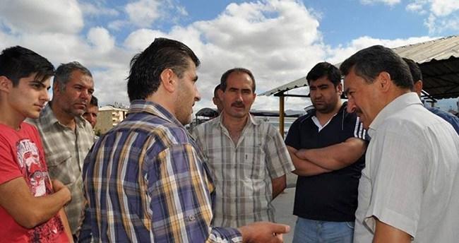 Seydişehir Belediye Başkanı Tutal, hayvan pazarını gezdi
