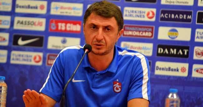 Shota Trabzonspor'un başında ilki yaşadı