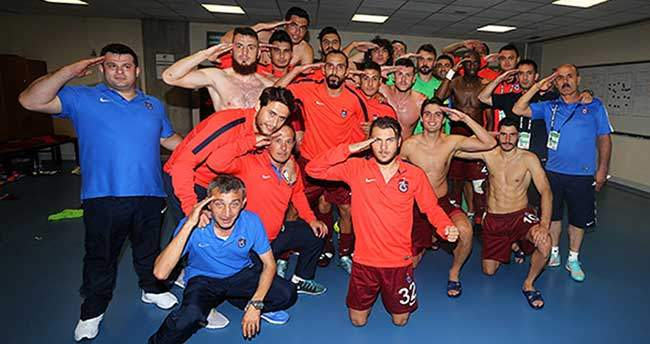 Trabzonspor şehitleri unutmadı