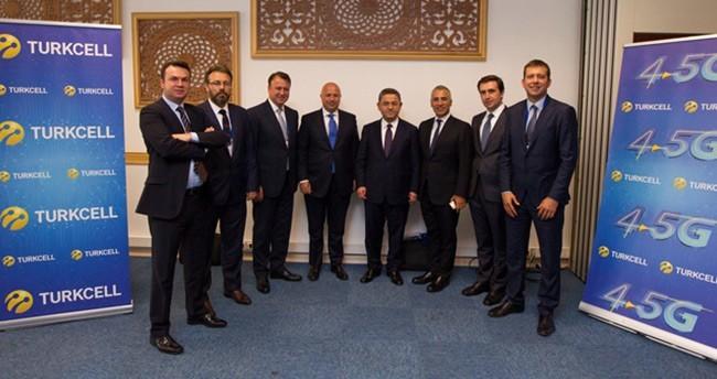 Turkcell'den 4.5G'ye 1.6 milyar euro