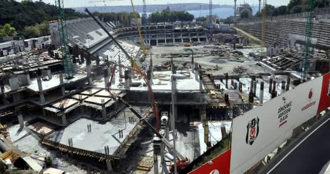 Vodafone Arena'nın inşaatı durduruldu