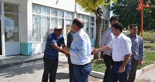 Başkan Yaka,mahallerde incelemelerde bulundu