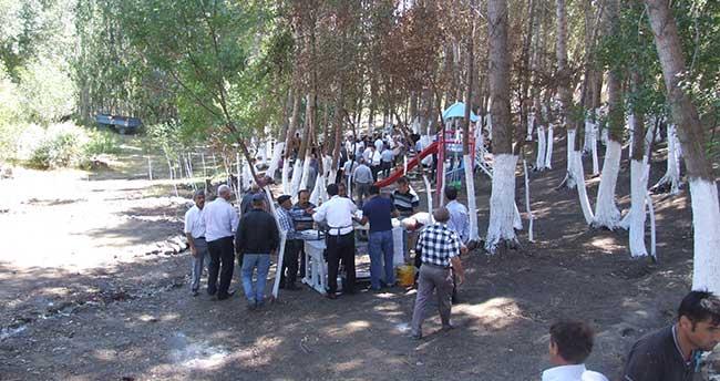Çakmak Bağları mesire alanı hizmete açıldı