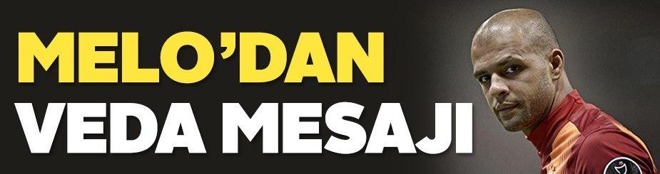 Melo'dan Galatasaray taraftarına veda mesajı