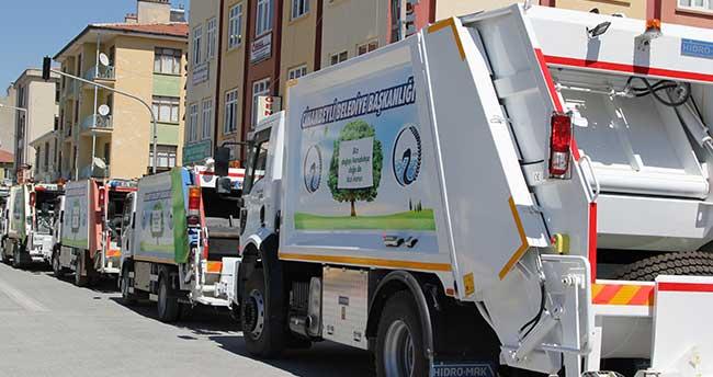 Cihanbeyli'ye yeni nesil çöp toplama aracı