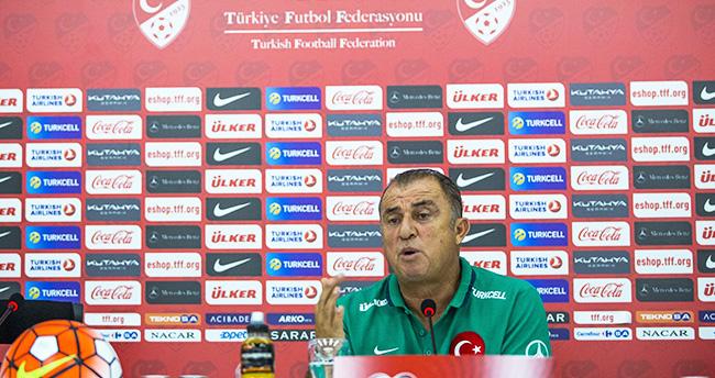 Fatih Terim: 4 maçı da kazanıp finallere gitmek istiyoruz