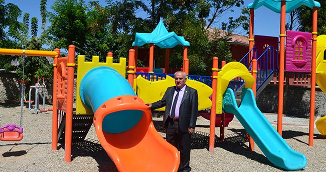 Güneysınır'a çocuk parkları kazandırılıyor