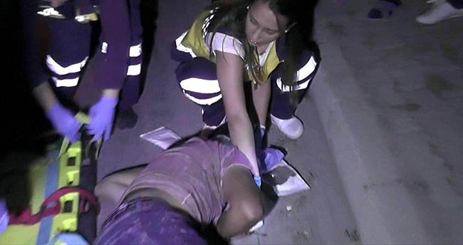 Ereğli'de Minibüsle Motosiklet Çarpıştı : 1 Yaralı