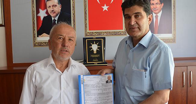 Karaman'da Mustafa Bayır Aday Adayı oldu