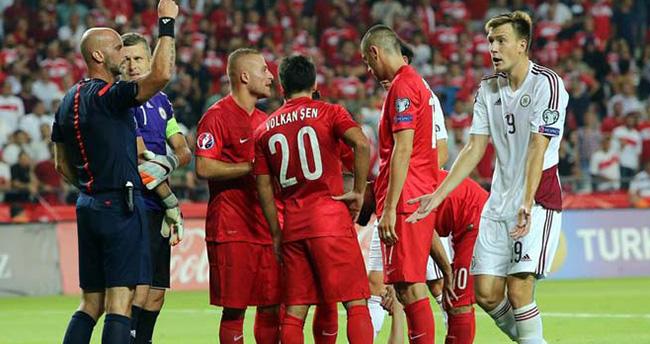 Türkiye 1-1 Letonya