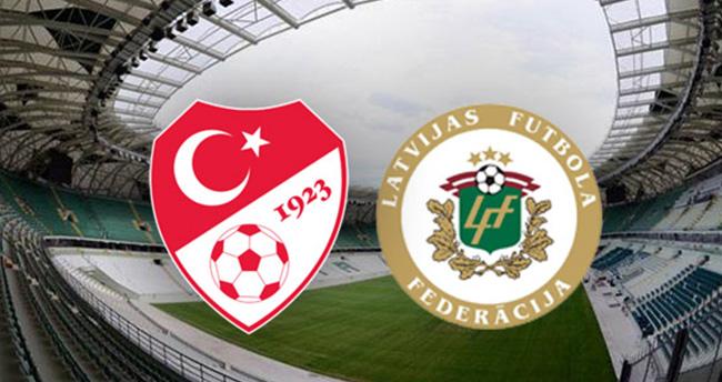 Türkiye Letonya maçı saat kaçta hangi kanalda ekranlara gelecek?