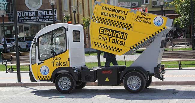 Cihanbeyli Belediyesi'nden Çöp Taksi Hizmeti