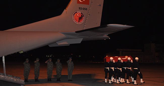 Şehit Ahmet Akalın'ın cenazesi Konya'ya getirildi