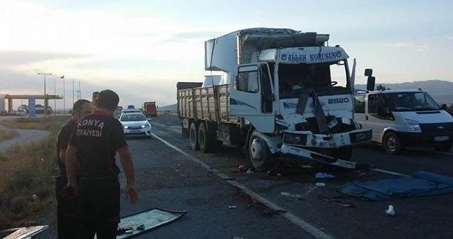 Ereğli'de Trafik Kazası : 1 Yaralı