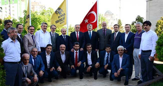 Kültür Bakanı Topçu'dan Başkan Akyürek'e Ziyaret
