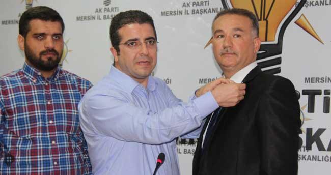 MHP'li aday adayı AK Parti'ye katıldı