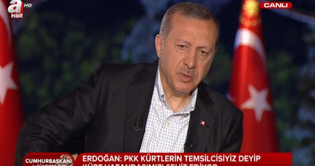 Hain saldırı sonrası Erdoğan'dan ilk açıklama