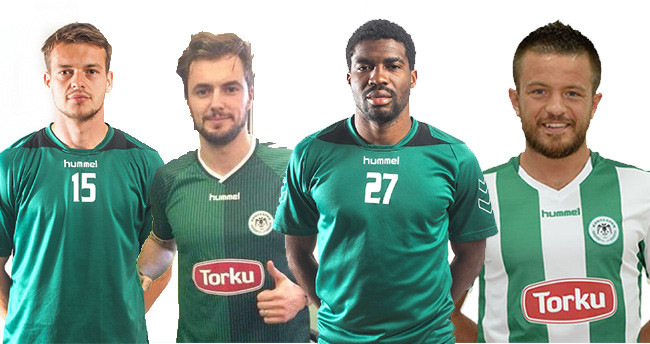 Torku Konyaspor'da Lisanslar çıktı