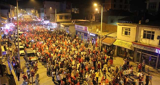 Konya'da teröre tepki