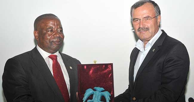 Ruandalı Heyetten Konya OSB'ye Ziyaret
