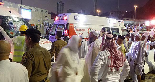 Kabe'de vinç faciası: 65 ölü 80 yaralı